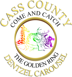 Cass County Dentzel Carousel, Come and catch the golden ring, Logansport, Indiana, Riverside park